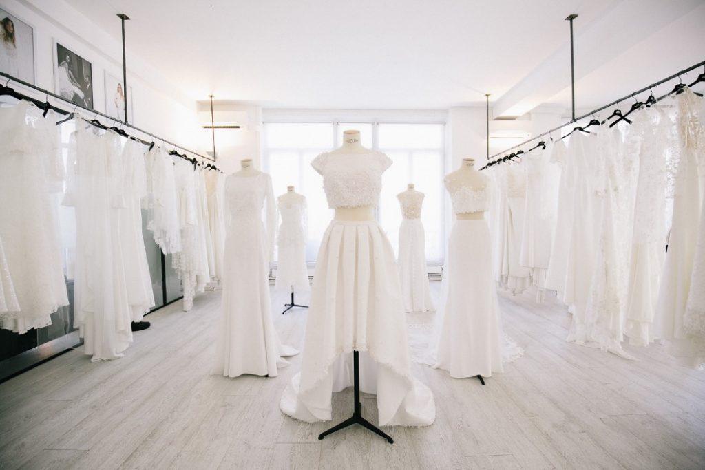 Collezione di abiti da sposa della stilista Rime Arodaky
