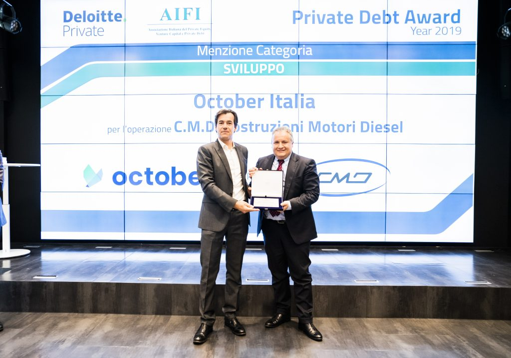 October Private Debt AwardOctober Private Debt Award