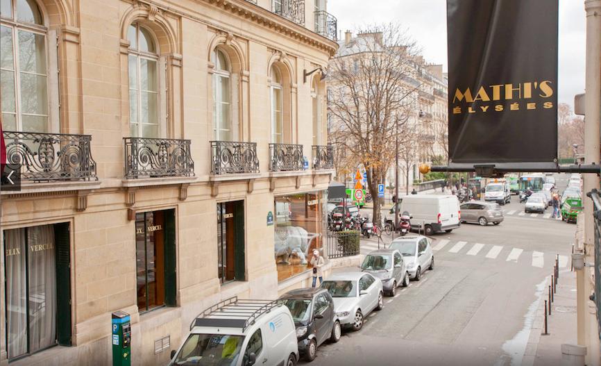hotel di lusso nel centro di parigi
