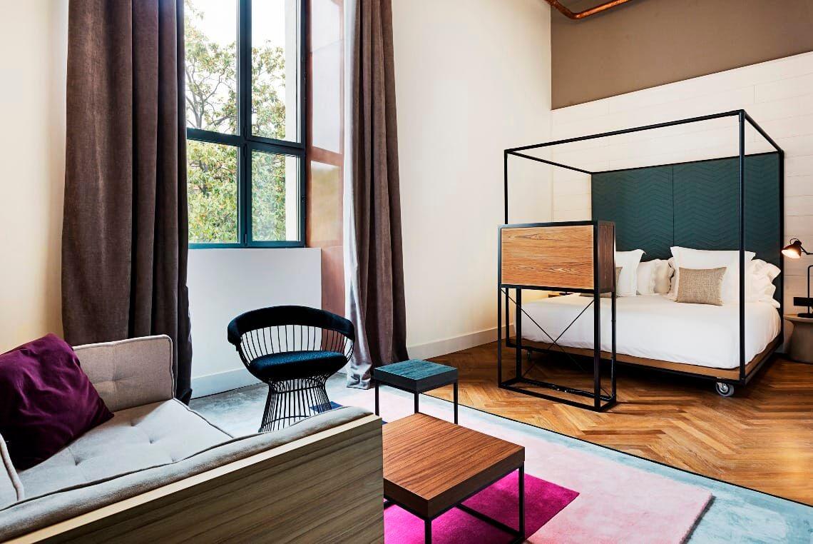 hotel con design moderno in spagna